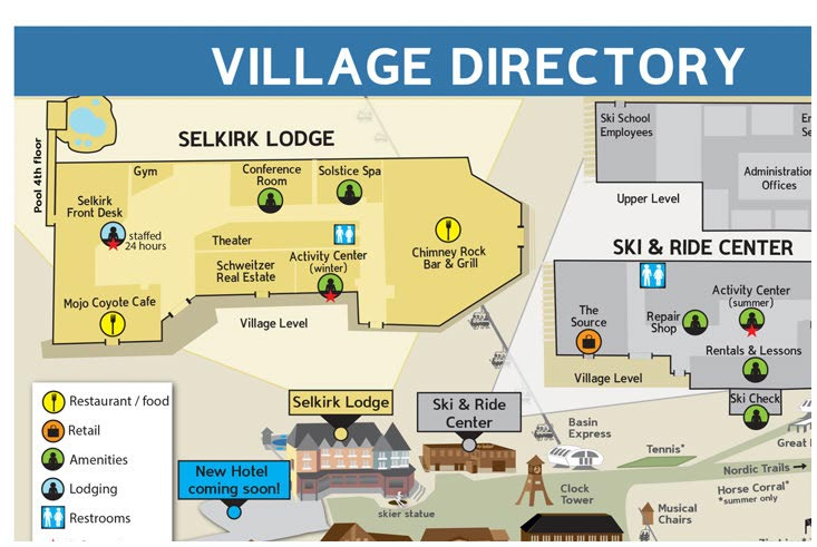 Village Directory Map
